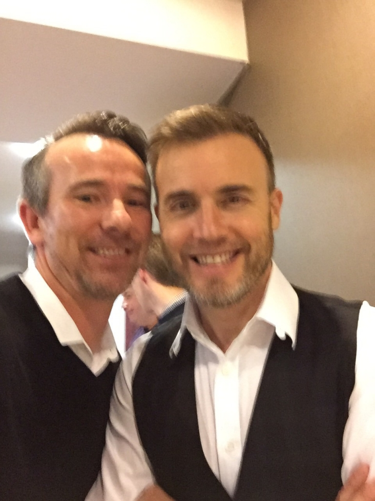Cheeky selfie with gary Barlow