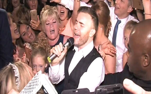 Gary Barlow Wedding Surprise Formby