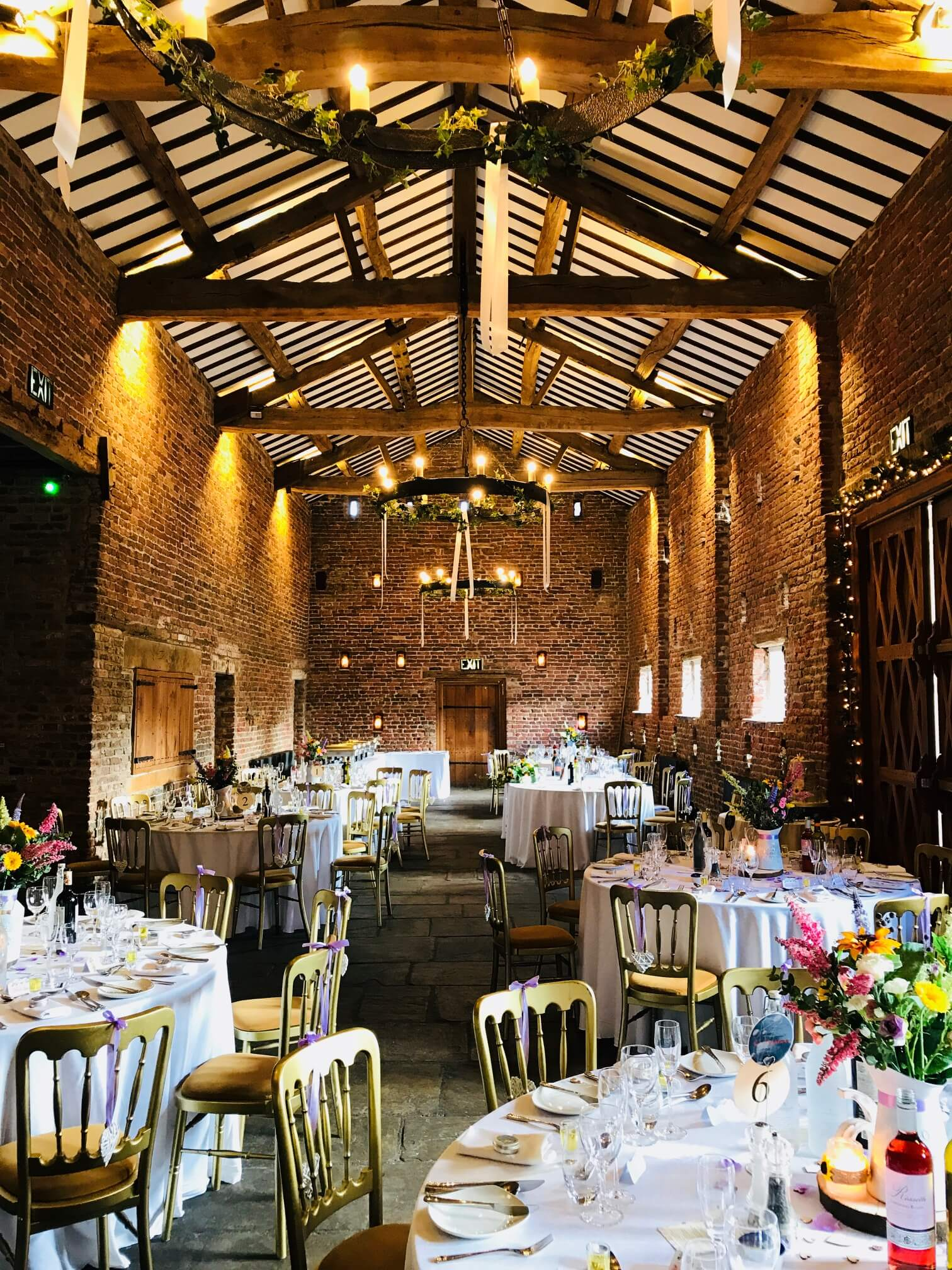 Meols Hall Wedding Evening